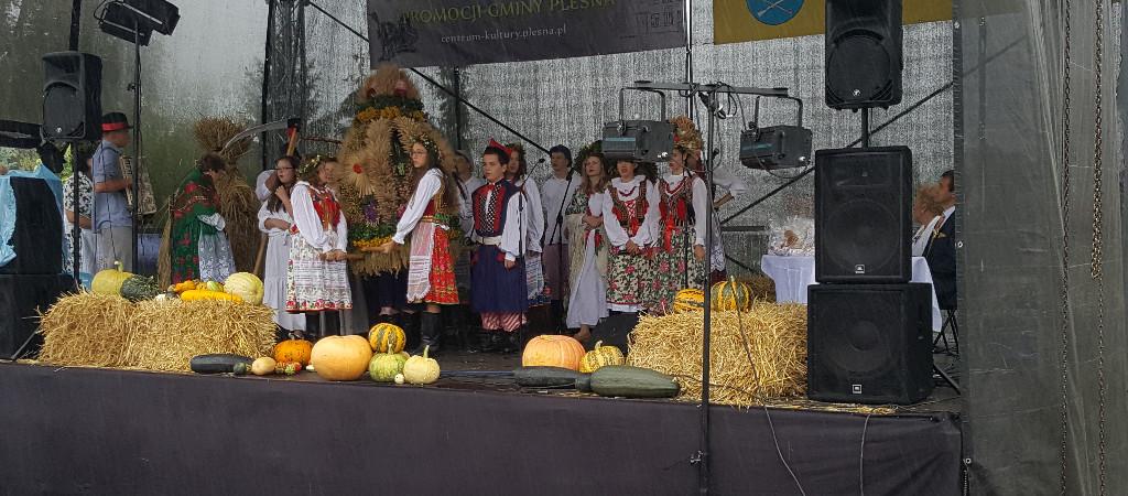 20 sierpnia- Dożynki Gminy Pleśna.