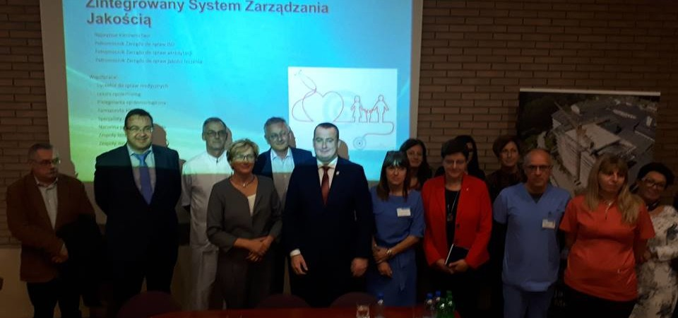 Wizyta Wiceminister zdrowia Józefy Szczurek-Żelazko w Specjalistycznym Centrum Medycznym w Polanicy-Zdroju